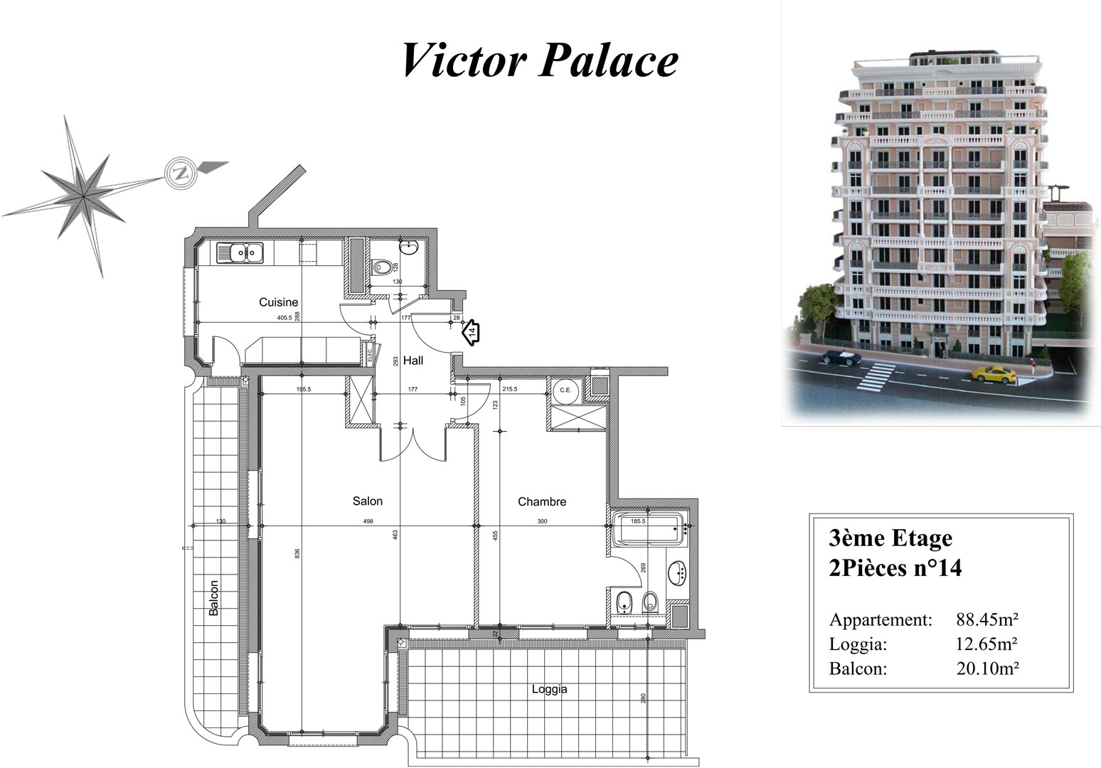 Victor Palace Group Pastor Apartment Rental In Monaco